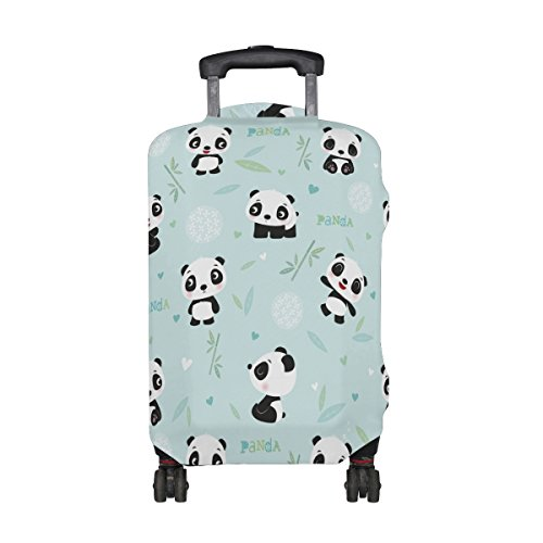 LAVOVO Panda Luggage Cover Suitcase Protector Carry On Covers