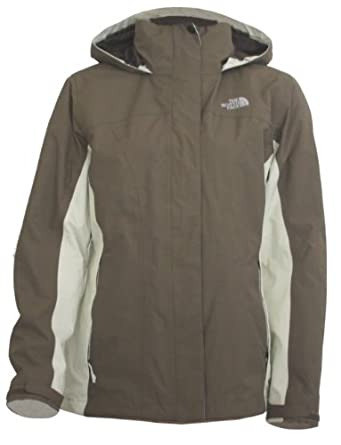 North face winterjacke damen braun