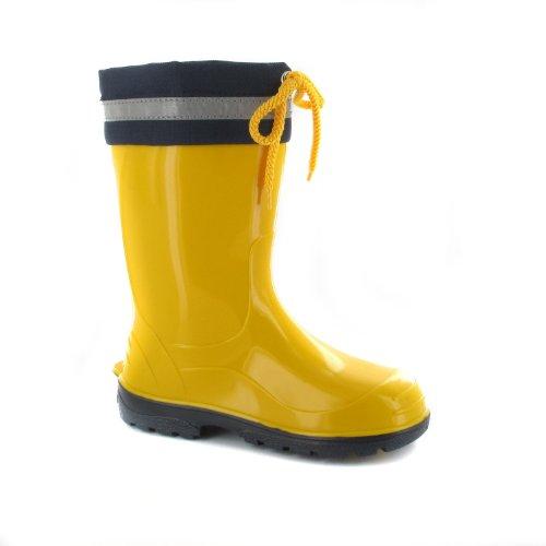 Bockstiegel Kim Kim Unisex Niños Botas de lluvia Amarillo - amarillo