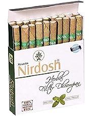 Nirdosh Nicotine & Tobacco Free Herbal Cigarettes No Nicotine No Tobacco - Export Quality - 40 Cigarettes (2 Packs)