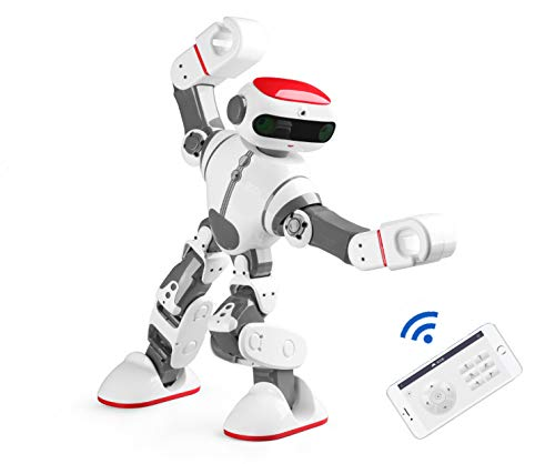 (SLONG Remote Control Children's Intelligent Robot Mobile APP Application Remote Control Speech Recognition Singing Dance Dialogue Learning)
