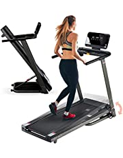 LifePro Folding Treadmill for Home - Smart Motorized Portable Treadmill with Incline, Bluetooth Speakers & Modern Display - Easy Assembly Compact Walking Treadmill Incline for Cardio & Weight Loss