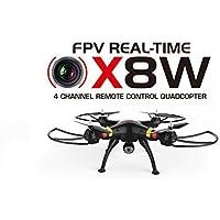 Successory® New upgrade Version Syma X8w Explorers Wifi FPV Rc Quadcopter with FPV Camera Rtf(black)