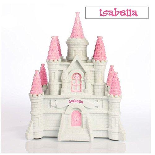 Personalized Princess Castle Piggy Bank, CUSTOM (CUSTOM)