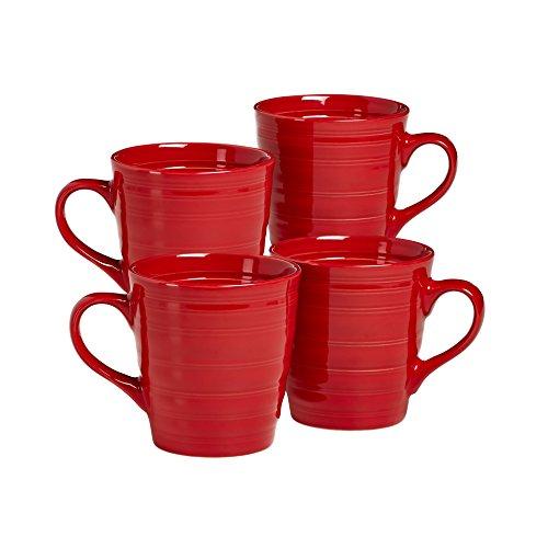 overandback 816309 Circo Red Mugs, Set of 4