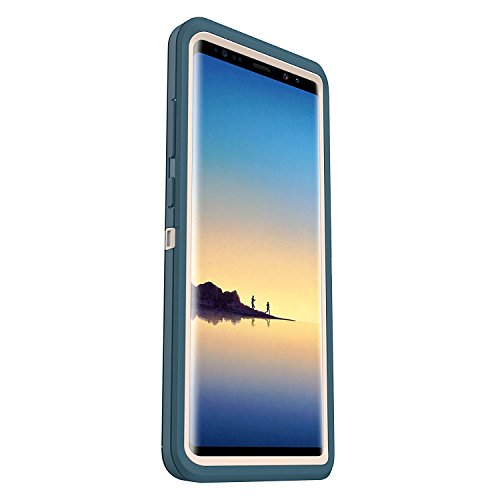 Rugged Protection OtterBox Defender Screen-less Edition Case - BIG SUR (PALE BEIGE/COSAIR) For Samsung Galaxy Note 8 - (Case Only)