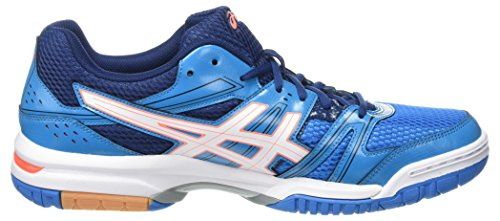 Multicolore 7 de Flash Zapatillas Mujer Blue Jewel Gel Asics White para Voleibol Rocket Coral 1F8qWEw