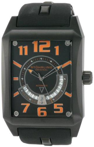 Stuhrling Original Men's 255.335657 Leisure Mad Man Automatic Date Black - Watch Gents Complication