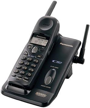 Panasonic KX-TC1484B - Teléfono inalámbrico analógico con identificador de Llamada (900 MHz, con identificador de Llamadas), Color Negro: Amazon.es: Electrónica