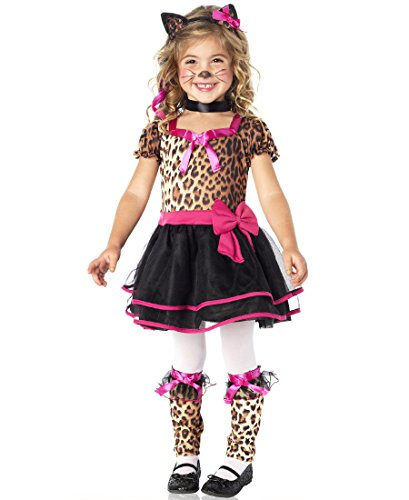 [Toddler Pretty Leopard Kitty Costume] (Child Pretty Kitty Costumes)