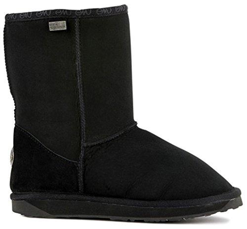 EMU Australia Womens Platinum Stinger Lo Casual Boots Boots Black 10