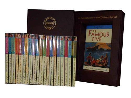 Enid Blyton Famous Five Series: Five on Treasure Island, Five Go Adventuring Again, Five Run Away Together, Five Go to Smuggler's Top, Five Go Off in a Caravan - More,