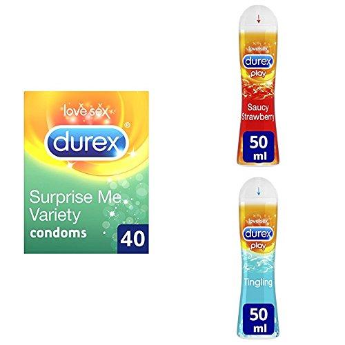 Durex Surprise Me Variety Condoms Pack Of 40 Buy