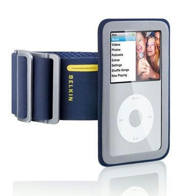 Belkin Sport Armband Pluswith FastFit for iPod classic 2G (Navy Blue)