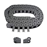 Befenybay Black Plastic Flexible Drag Chain Cable