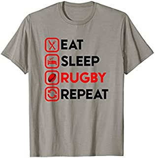[Featured] Eat Sleep Rugby - Rugby Gift Rugby Player Rugby Coach Gift in ALL styles | Size S - 5XL