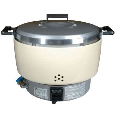 Rinnai Natural Gas Commercial Rice Cooker 55 Cups NSF RER-55ASN.