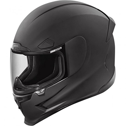 (ICON 0101-8037 HELMET AFP RUB BLK)