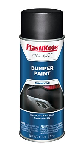 PlastiKote 616 Black Bumper Paint, 11 oz.