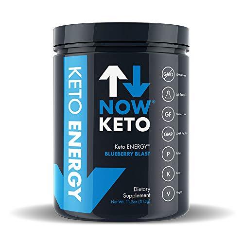 NOWKETO® Keto Energy Ketones w/MCT Powder -Medium Chain Tri