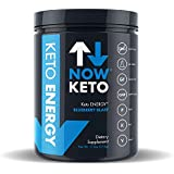 NOWKETO® Keto Energy Ketones w/MCT Powder -Medium Chain Triglyceride- & BHB Ketones -Beta Hydroxybutrate Salts - Keto Diet Friendly - Elevate Ketones & Increase Ketosis, for Ketogenic Diet
