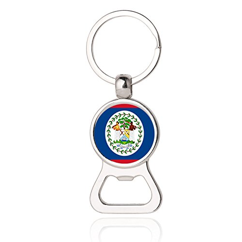 The Belize National Flag Photo Printing Bottle Opener Keychain,Belize National Flag Photo Dome Bottle Opener,Photo Dome Jewelry,Gift,Bottle Opener Key Chain,Promotional Items