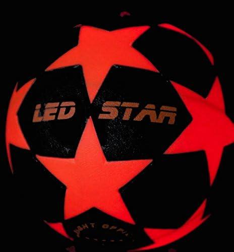 leuchtfuss Ball Night Kick LED Star – El nuevo Champion la ...