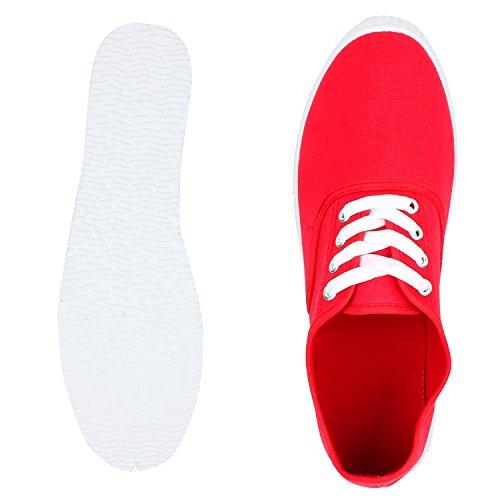 VITA Low SCARPE Damen Spitze Rot Sneaker zdtTwtqv