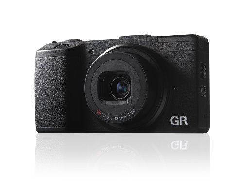 Ricoh GR 16.2 MP Digital Camera with 3.0-Inch LED Backlit (Black)