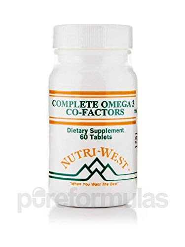 Adult Formula 60 Tablets - Complete Omega-3 Co-Factors (Adult Formula) - 60 Tablets by Nutri West