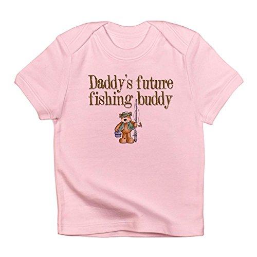 [CafePress - Daddy's Future Fishing Buddy Creeper Infant T-Shir - Cute Infant T-Shirt, 100% Cotton Baby Shirt] (T-shir Fish)