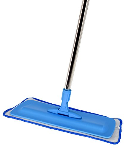 SmartlyMaid Microfiber Mop, Compact Design with Quick Change Cleaning Pad