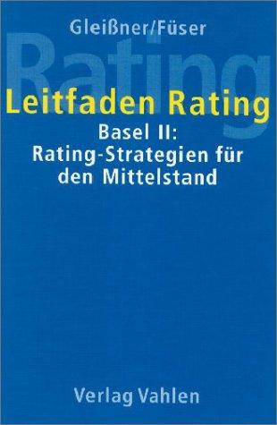Leitfaden Rating, m. CD-ROM