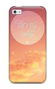 New Fly Away Tpu Case Cover, Anti-scratch JvKOsUc9561AzRxK Phone Case For Iphone 5c
