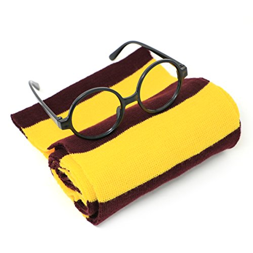 For Harry Potter Novelty Scarf and Glasses Costume Accessories for - For Potter Sale Harry Glasses