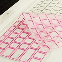 """NEW ARRIVAL! TopCase® PINK Silicone Keyboard Cover Skin for Macbook 13"""" 13.3"""" (1st Generation/A1181) with TOPCASE® Logo Mouse Pad"""