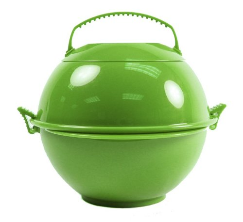 Food Globe to Go 2 Pack Lunch Bowl Container (olive)