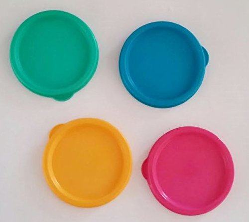 Set of 4 Tupperware G Seals for 16 and Bell Tumblers Replacement Lid Lot