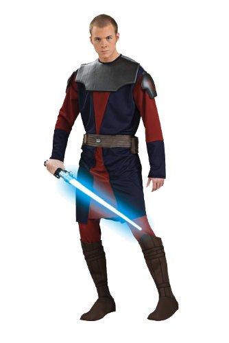 Rubie's Men's Star Clone Wars Deluxe Anakin Skywalker Costume, Multicolor, Standard -