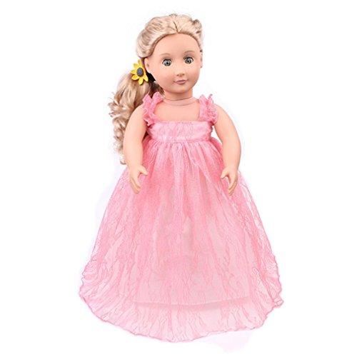 Wensltd Doll Clothes for 18 Inch Dolls Pretty