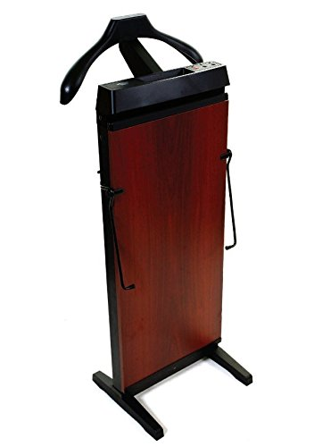 Corby Of Windsor 3300 Pants Press In Mahogany Mahogany Valet Stand