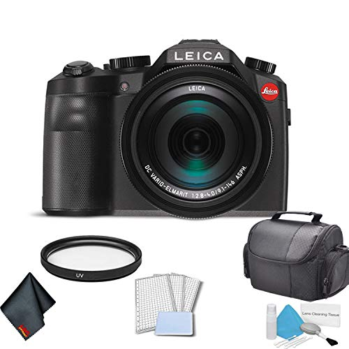 Leica V-Lux (Typ 114) 20 Megapixel Digital Camera with 3-Inch LCD (18194) Bundle (Leica C Lux 3)