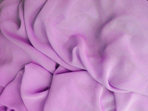 1 X Chiffon Lavender 58 Inch Fabric By the Yard (F.E.®)