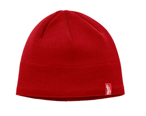 Milwaukee Fleece Lined Knit Hat (Red)