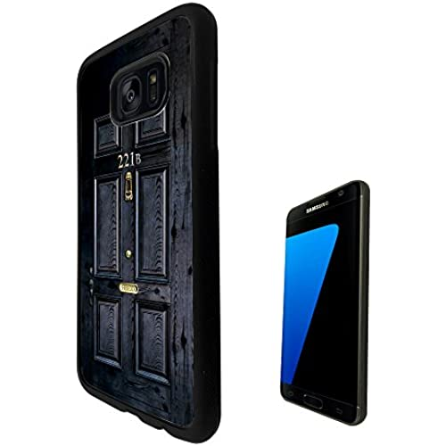 1564 - Sherlock Door Design For Samsung Galaxy S7 Edge G935 Fashion Trend CASE Back COVER Silicone Gel Rubber& Sales