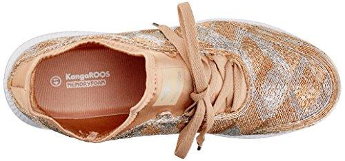 silver Kangaroos copper W Adulto Unisex Zapatillas Gold 518 q0q4B