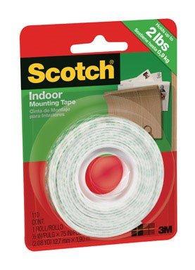 Scotch 110P 110 Tape-Caulk, 0.5 x 75-inches