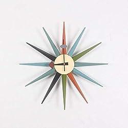 TRN Table, Clock, Clock, Gift, Clock, Household, Clock, Living Room, Simple Clock, Wall Clock, Living Room, European Quartz Clock, Clock, Wall Clock, Double-Sided Clock, Clock,Multicolour