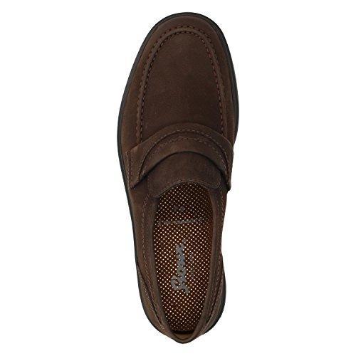 Sioux Peru 28950, Scarpe basse classiche uomo Marrone