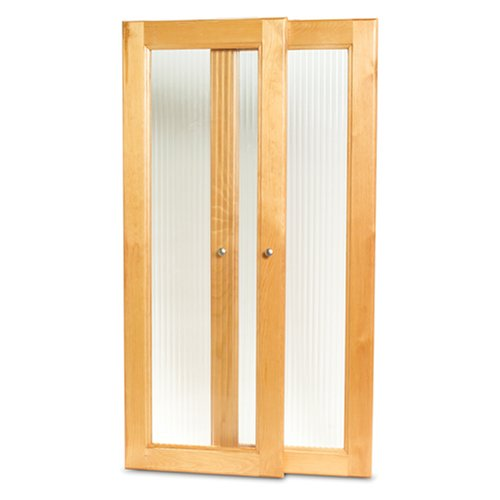 John Louis Home JLH-534 Deluxe Tower Door Kit, Honey Maple - John Louis Home Deluxe Tower